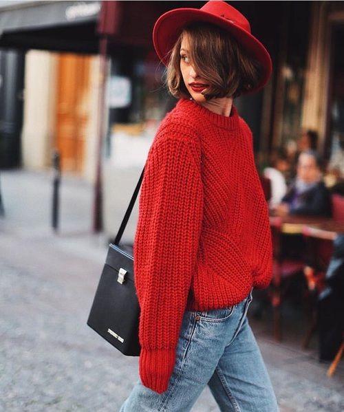 Czerwony kolor rządzi jesienią